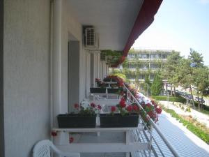 Un balcon sau o terasă la Hotel Astoria