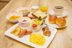 京都四條鳥丸索特圖斯弗雷撒酒店供旅客選擇的早餐選項