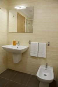 Un baño de Alojamiento Caldas de Reis