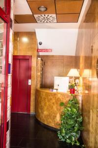 El vestíbulo o zona de recepción de Hotel Villa de Zaragoza