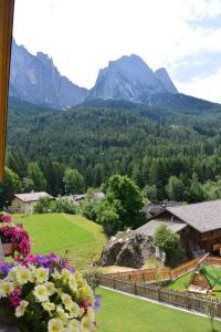 Ein allgemeiner Bergblick oder ein Berglick von der Ferienwohnung aus
