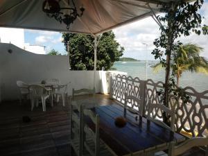 A balcony or terrace at Amigos Apartamentos