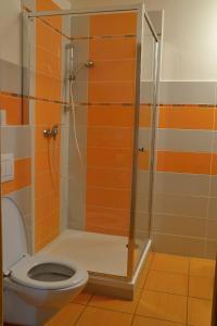 Ein Badezimmer in der Unterkunft Penzion Mlýn Sedlec