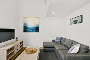 A seating area at Terrace Lofts Apartments