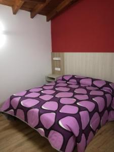 Cama o camas de una habitación en Hostal Casa Tino