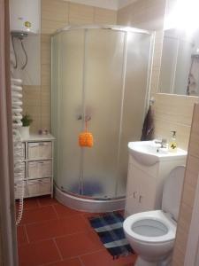 Łazienka w obiekcie Master Corner Guest Rooms