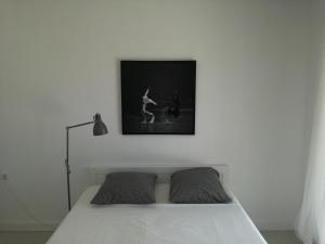 Säng eller sängar i ett rum på Luxury Villa in Kechria 2