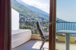 Balkón nebo terasa v ubytování Hotel Baia Verde