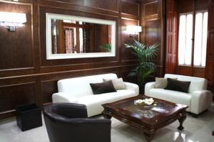 El vestíbulo o zona de recepción de Hotel San Sebastián Hospedería