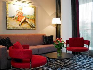 Гостиная зона в Hotel Belvedere Budapest