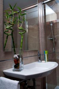 Un baño de Hotel San Sebastián Hospedería
