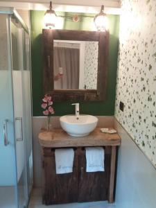 Un baño de Complejo Turístico L'oteru