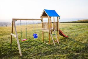 Children's play area at Casa Domeniile Vinului