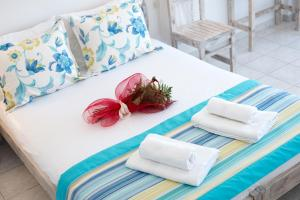 A bed or beds in a room at Agnadi Villa