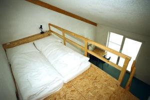 Ein Etagenbett oder Etagenbetten in einem Zimmer der Unterkunft Motel Dacice