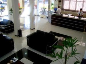The lobby or reception area at Hotel Mirage
