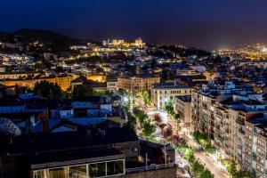 A bird's-eye view of Leonardo Hotel Granada