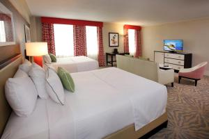 A bed or beds in a room at Resorts Casino Hotel Atlantic City
