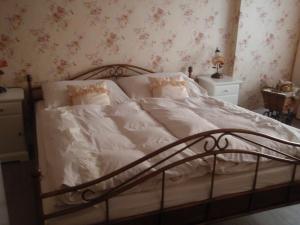 Postel nebo postele na pokoji v ubytování Apartmán Nostalgie