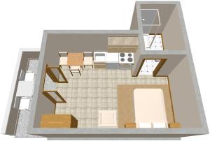 Plán poschodí v ubytovaní Apartments by the sea Zaklopatica, Lastovo - 993
