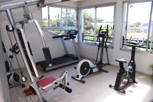 Gimnasio o equipamiento deportivo en Apart Playa Serena