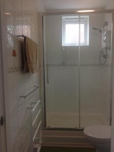 A bathroom at Asturias House