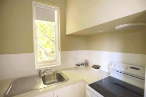 A kitchen or kitchenette at Globe Apartments