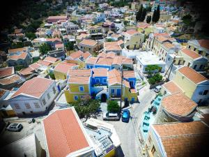 A bird's-eye view of Horio Village Rooms