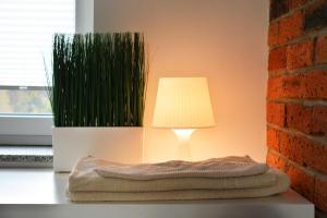 Łóżko lub łóżka w pokoju w obiekcie The Loft