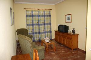Zona de estar de Hotel Albohera