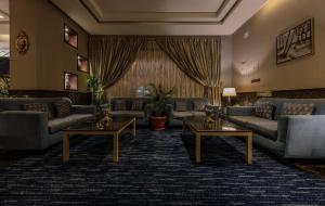 منطقة جلوس في فندق وكن