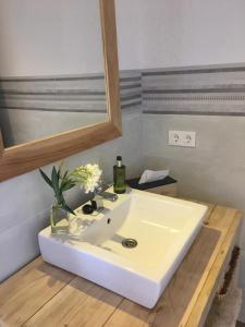 Un baño de Villa Pilar