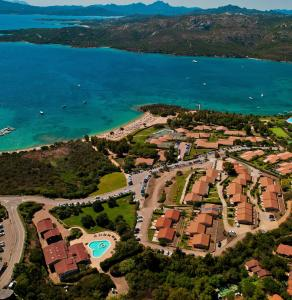 A bird's-eye view of Residence Porto Mannu
