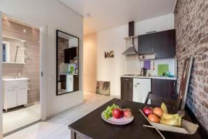Кухня или мини-кухня в Apart Hotel Arka