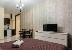Телевизор и/или развлекательный центр в Apart Hotel Arka