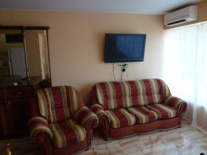 Гостиная зона в Apartment on Vinogradnaya