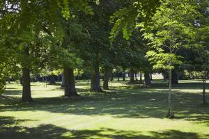 A garden outside Campanile Hotel Compiegne