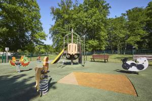 Children's play area at Campanile Hotel Compiegne