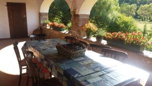 Restaurant o un lloc per menjar a Mas Prat de la Plaça