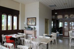 Un restaurante o sitio para comer en Hotel Montero