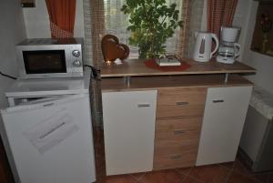 Küche/Küchenzeile in der Unterkunft Gästehaus Eßl
