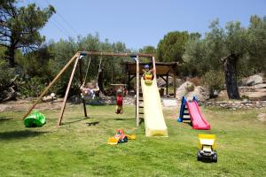 Children's play area at Spathies