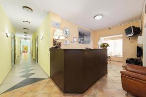 Лобби или стойка регистрации в Отель Мон Плезир