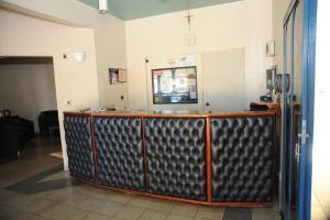 O saguão ou recepção de Hotel Varandas Araraquara