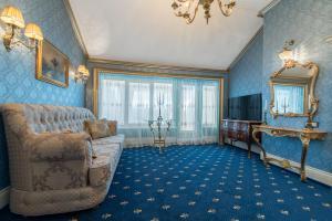 Гостиная зона в Бутик-Отель Тургеневъ