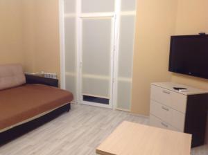 Телевизор и/или развлекательный центр в Apartment Zarechye