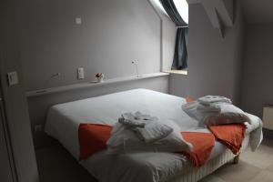 Un ou plusieurs lits dans un hébergement de l'établissement Abbaye de Belval
