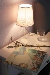 Letto o letti in una camera di B&B VELARDI