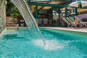 The swimming pool at or close to Hotel Villa Carlotta