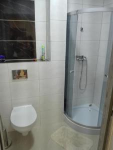 Łazienka w obiekcie Hostel Grono